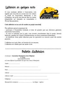 bulletin d'adhésion2019