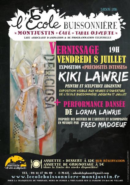 affiche-KIKI-LAWRIE-OUEB