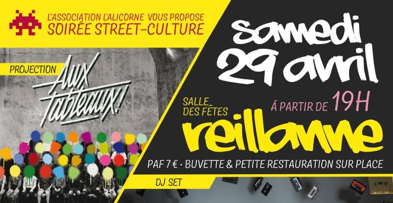 Soirée Street-Culture à Reillanne