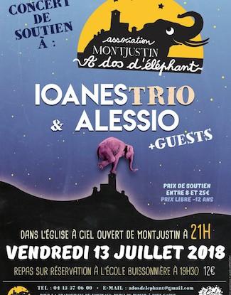 Concerts Ioanes trio & Alessio + Guests !