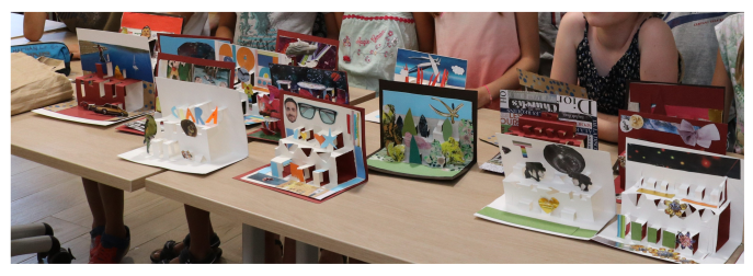 Atelier carte pop up